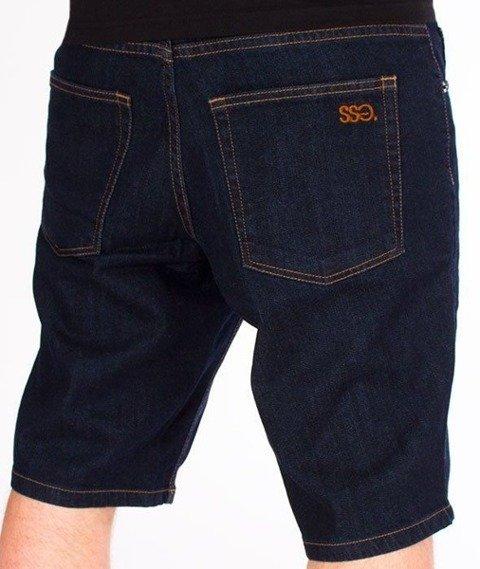 SmokeStory-Szorty Jeans SSG Classic Dark