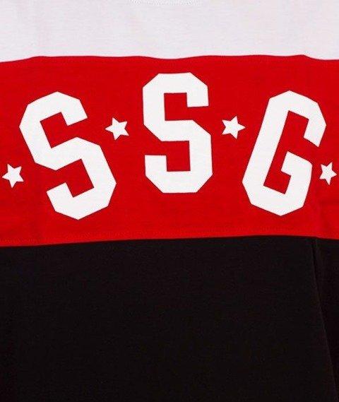 SmokeStory-Triple Dots Premium T-Shirt Czerwony
