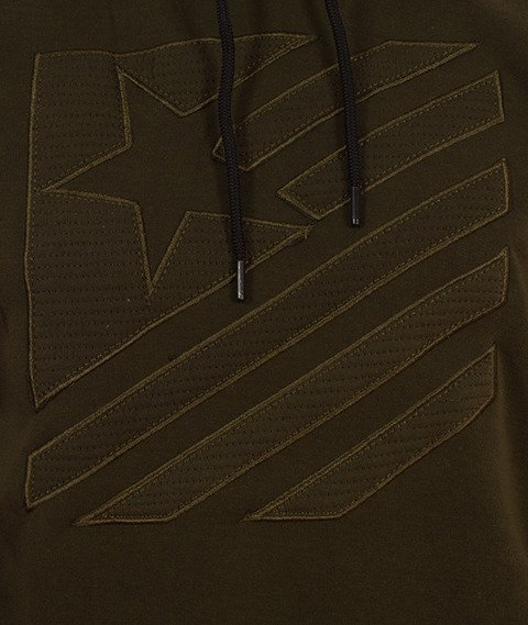 Southpole-Hoody Bluza Kaptur Oliwkowa