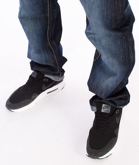 Southpole-Regular Straight Leg Spodnie Jeans Dark Sand Blue