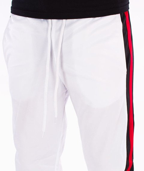 Southpole-Track Pants Side Panel Spodnie Dresowe White/Red