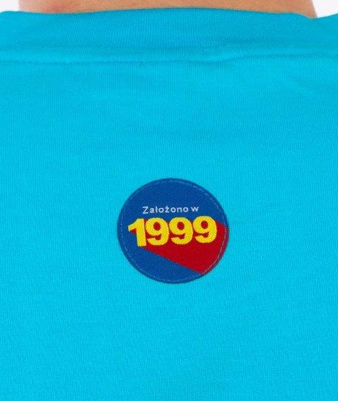 Stoprocent-Arcade Tag T-Shirt Niebieski