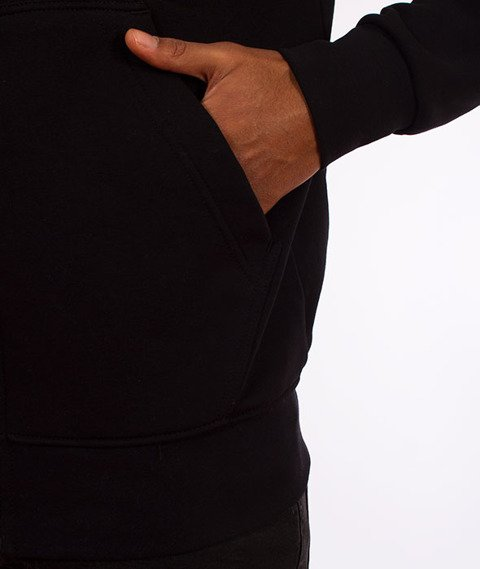 Stoprocent-BMS Tag18 Bluza Kaptur Rozpinana Black