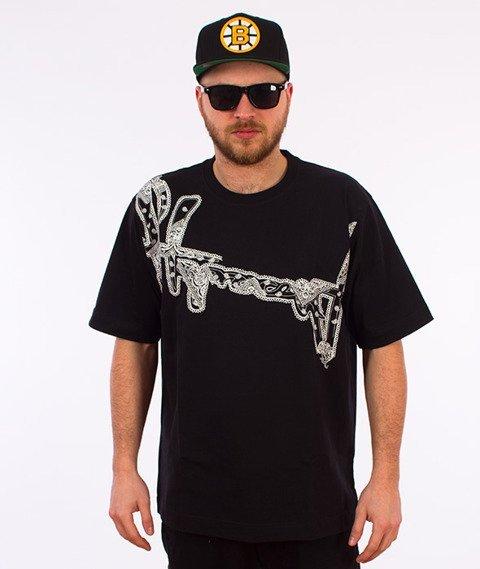 Stoprocent-Bandana16 T-shirt Czarny