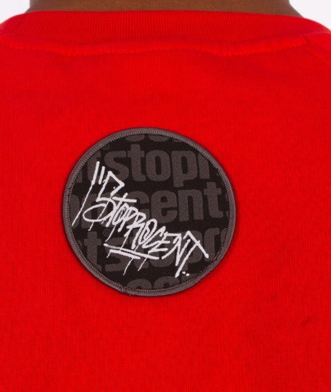 Stoprocent-Chce Bluza Czerwona