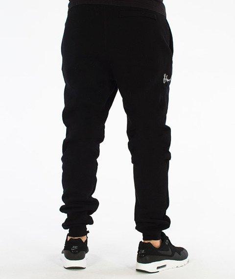 Stoprocent-Cowboy Base Spodnie Dresowe Czarne