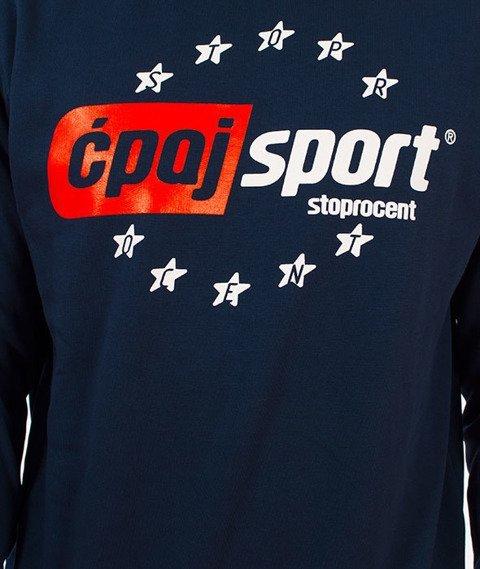 Stoprocent-Ćpaj Sport Bluza Granatowa