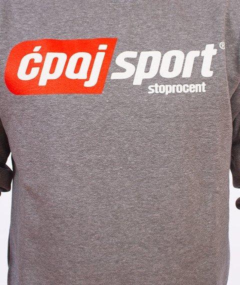 Stoprocent-Ćpaj Sport Bluza Szara