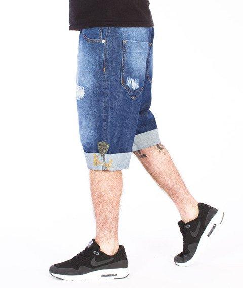 Stoprocent-Cuf16 Spodnie Krótkie Blue