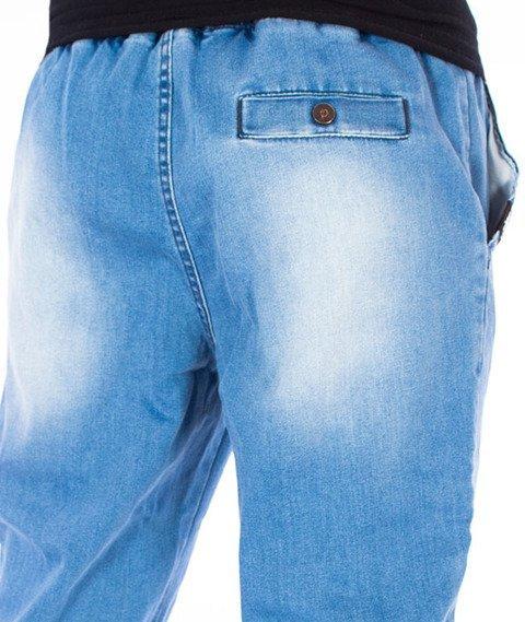 Stoprocent-SJ Jeans Jogger17 Spodnie Niebieskie
