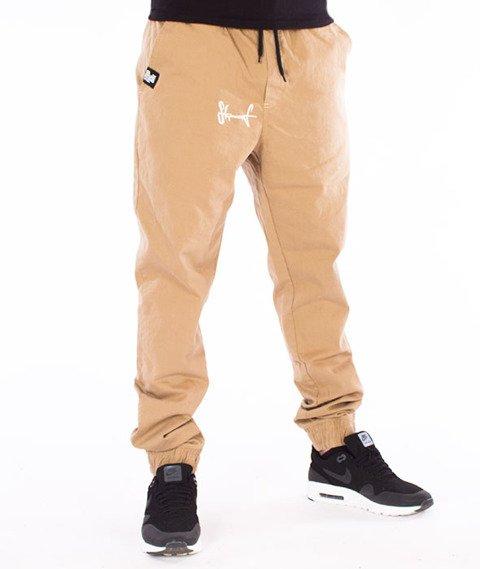 Stoprocent-SJ Jogger Classic17 Spodnie Beżowe