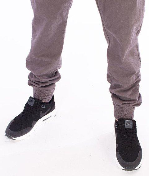 Stoprocent-SJ Jogger Classic17 Spodnie Szare