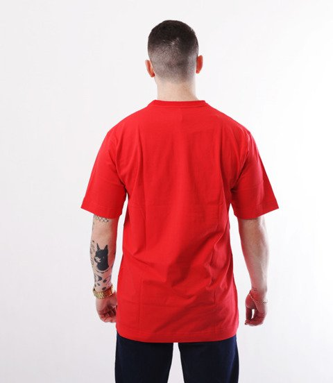 Stoprocent-T-SHIRT BAGGY TM BASE TAG Czerwony