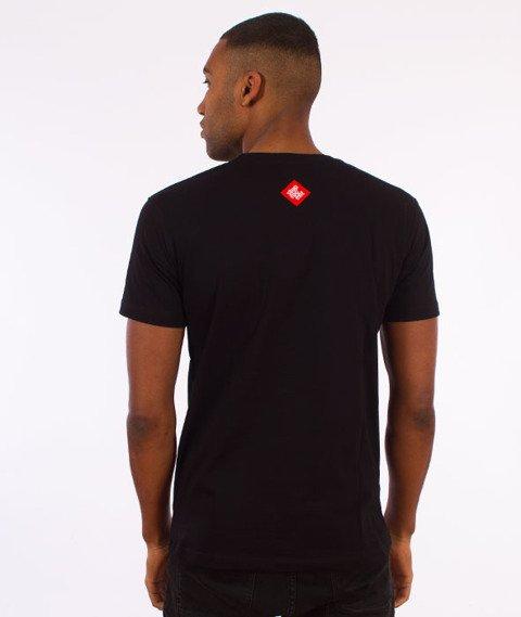 Stoprocent-Tag17 Slim T-Shirt Czarny