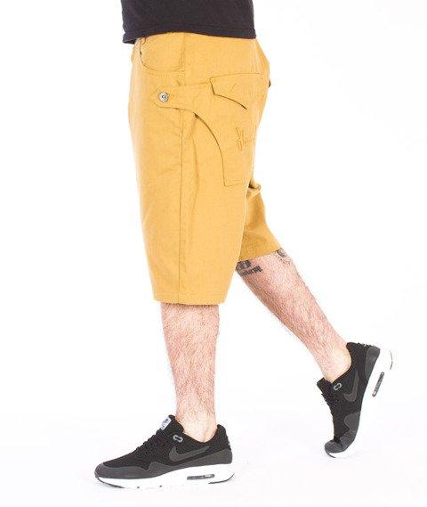 Stoprocent-Traveler Canvas Spodnie Krótkie Honey
