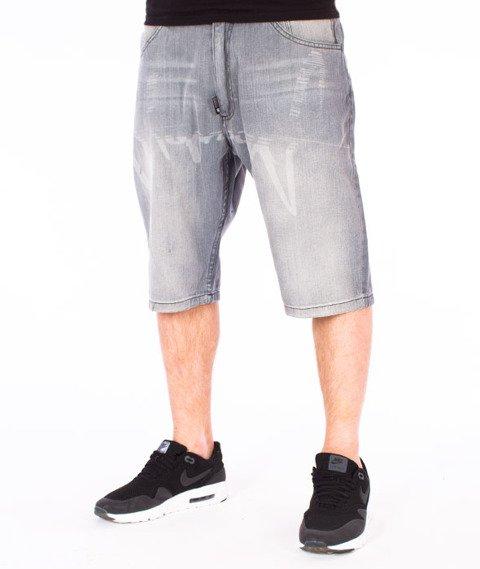 Stoprocent-VHS Shorts Spodnie Krótkie Szare