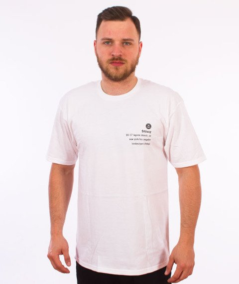 Stussy-17 T-Shirt White