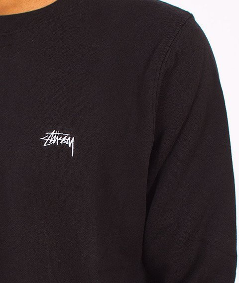 Stussy-Back Arc Crewneck Black