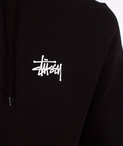 Stussy-Basic Stussy Hood Bluza Kaptur Black