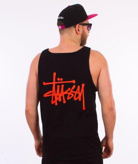Stussy-Basic Stussy Tank Top Black