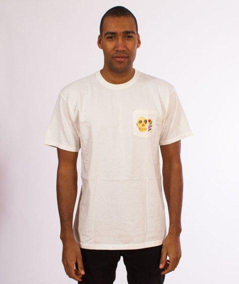 Stussy-Calavera Pocket T-Shirt Natural