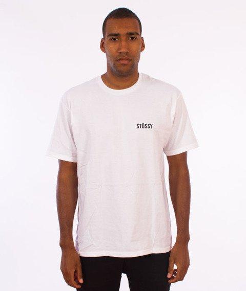 Stussy-Catch A Fire T-Shirt White