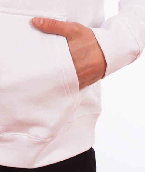 Stussy-Checker Stock Hood Bluza Kaptur White