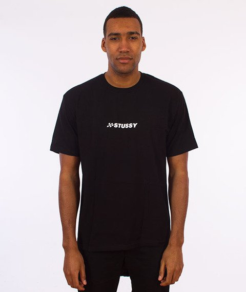 Stussy-Finish T-Shirt Black