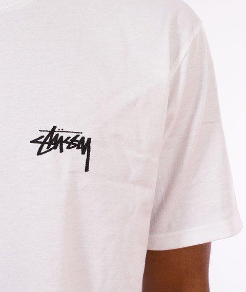 Stussy-Fire on Babylon T-Shirt White