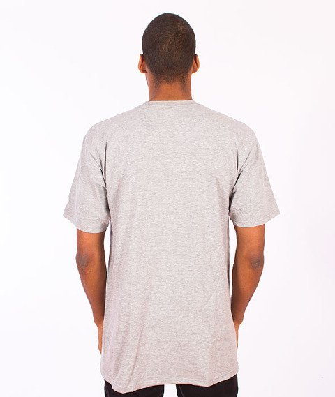 Stussy-Label Stock Tee Grey Heather