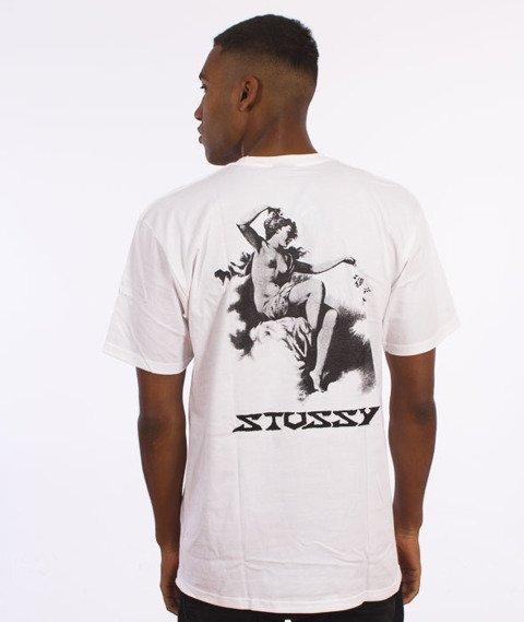Stussy-Rococo T-Shirt Biały