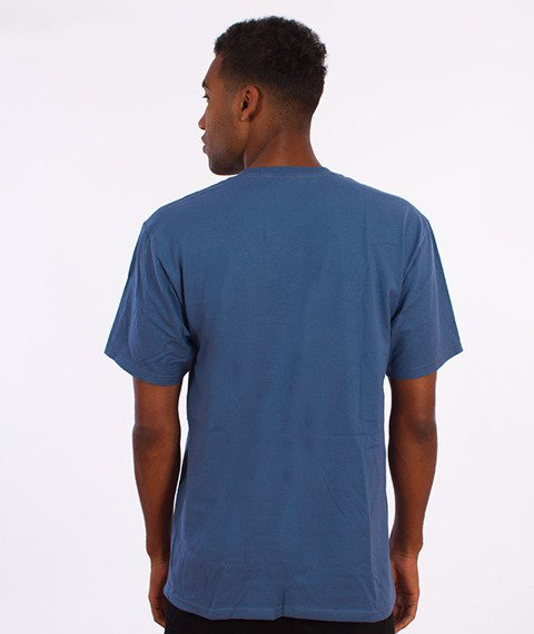 Stussy-Stock Link T-Shirt Stalowy