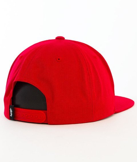 Stussy-Stock SP16 Snapback Red