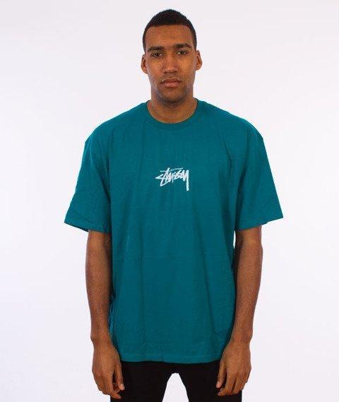Stussy-Stock T-Shirt Dark Teal