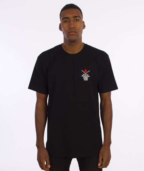 Stussy-Swords T-Shirt Czarny