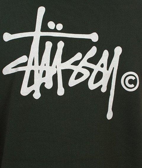 Stussy-Two Tone Hood Bluza Kaptur Green