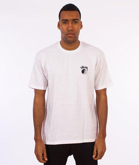 Stussy-Yin Yang Sun T-Shirt White