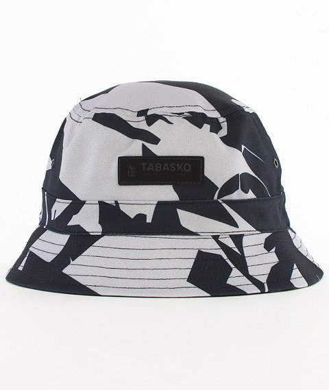 Tabasko-Crack Bucket Hat Czarny/Szary