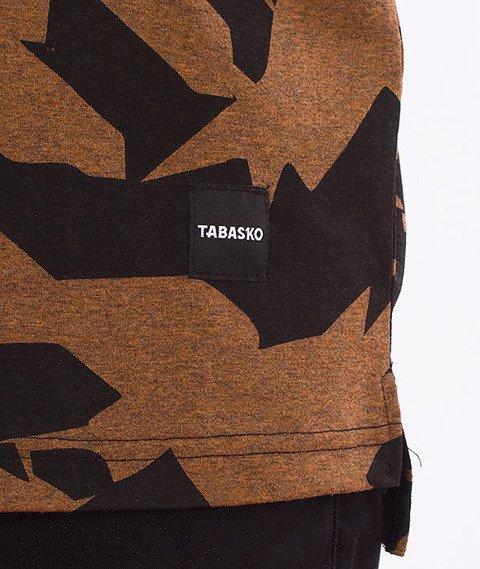 Tabasko-Crack T-Shirt Czarny/Pomarańczowy