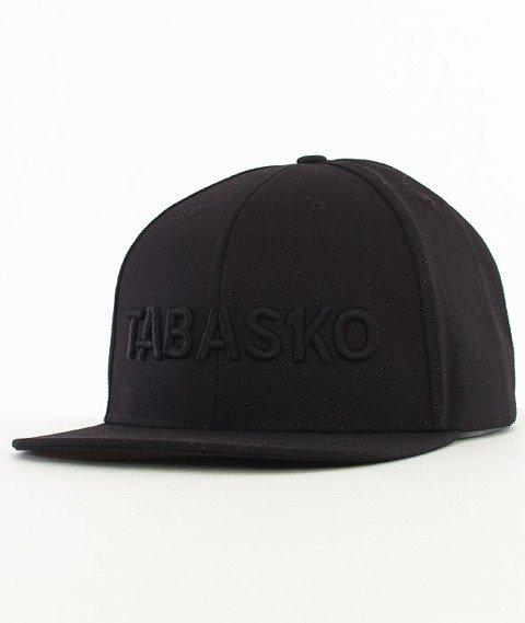 Tabasko-Script Snapback Czarny
