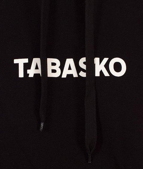 Tabasko-Tape Bluza Kaptur Czarna