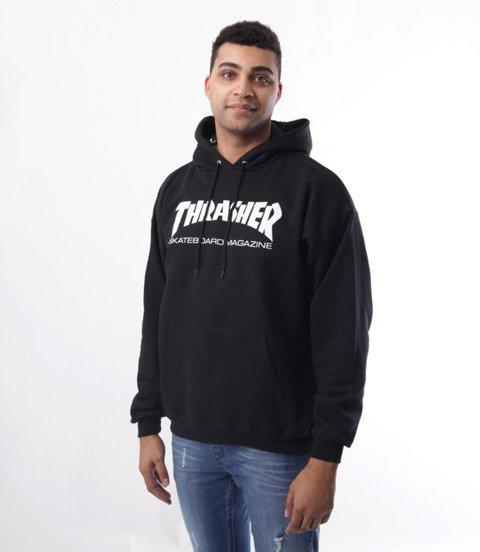 Thrasher-Skate Mag Bluza Kaptur Czarna