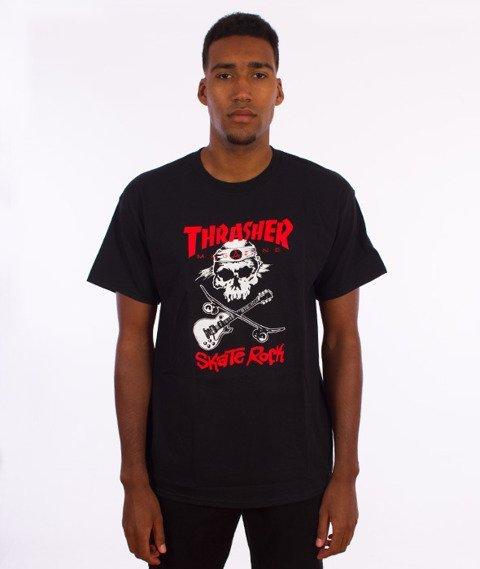 Thrasher-Skate Rock T-Shirt Czarny