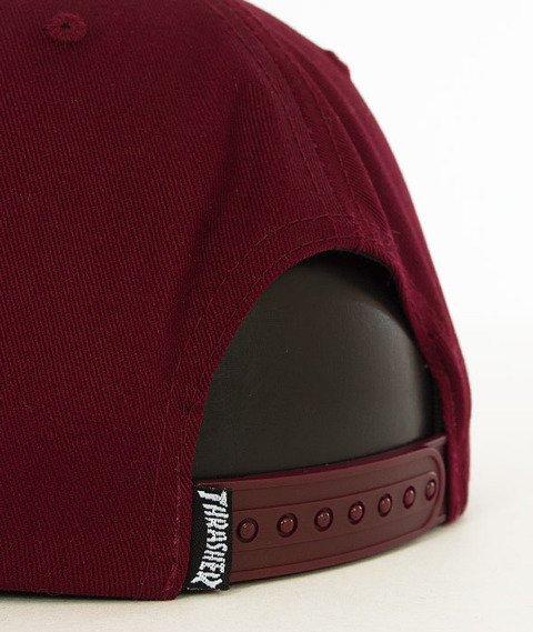 Thrasher-Skategoat Snapback Maroon