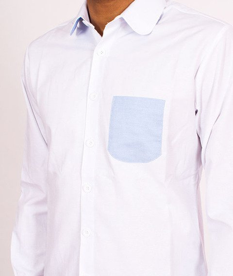 Turbokolor-308 Shirt White/Blue SS16