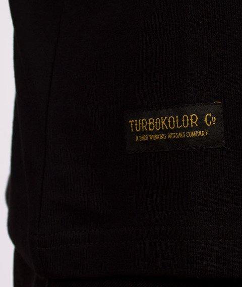 Turbokolor-Champagne T-Shirt Black
