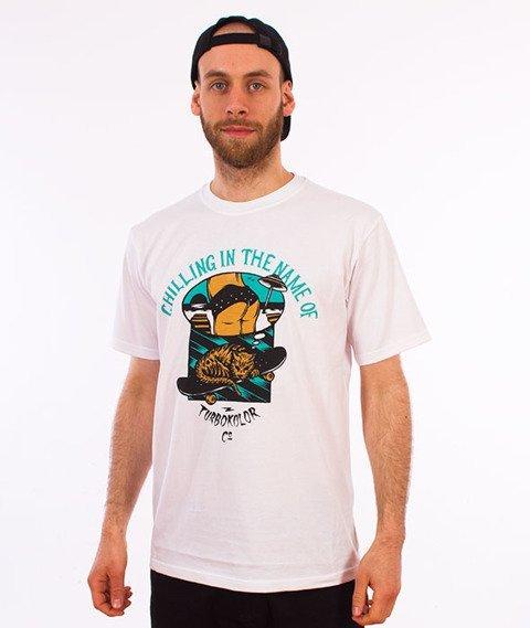 Turbokolor-Chilling T-Shirt White
