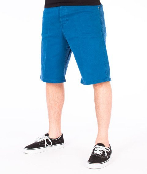 Turbokolor-Chino Shorts Loose Spodnie Navy