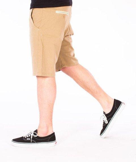 Turbokolor-Chino Shorts Spodnie Khaki