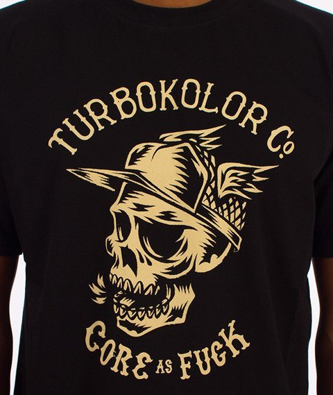 Turbokolor-Core T-Shirt Czarny